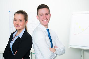 junges businessteam