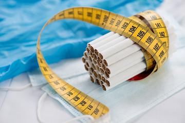 Anti-smoking, healthy lifestyle concept