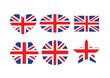 united kingdom flag or UK  british flag