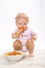 Hmm lecker Spaghetti :-)