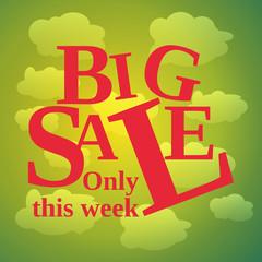 sale poster week spring