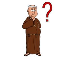 pytający zakonnik