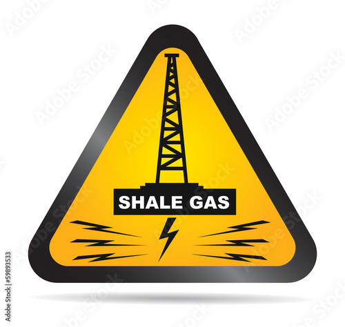 Shale gas label - antifracking