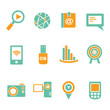 social media icon set, communication icons