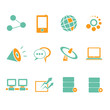network, internet icons