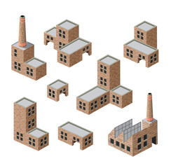 buildings of brick