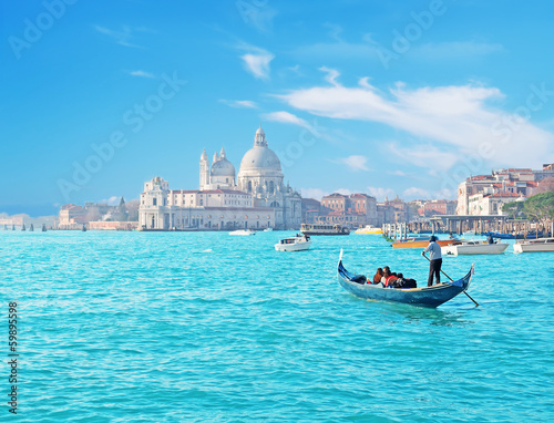 Venice by gondola - 59895598
