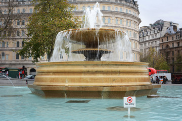 London Fountain