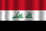 Waving Iraq Flag