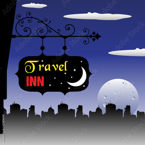 Travel inn plate