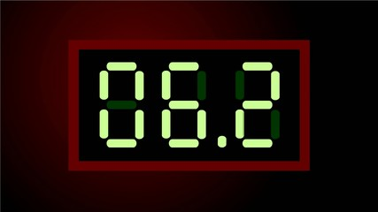 Countdown digital