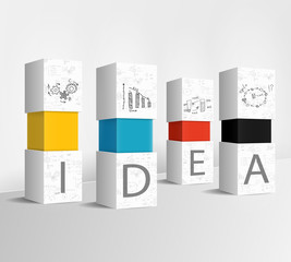 Idea column concept