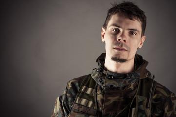 portrait of a man in uniform