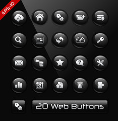 FTP and Hosting Icons -- Black Label Series