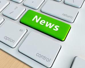 Concept of online or internet news