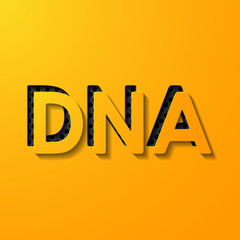 scientific word DNA, layers of metal and flat surfaces