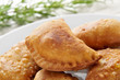 spanish empanadillas, small meat or tuna pies