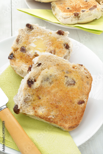 Toasted Teacakes