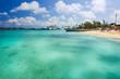 Leinwanddruck Bild Nassau Bahamas Private Beach
