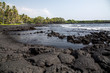 Hawaii - Big Island  - Punalu'u Black Sand Beach