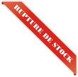 étiquette rupture de stock