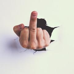 Offensive gesture