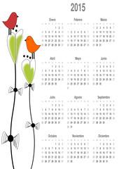 Calendario para el 2015