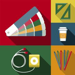 Objetos de trabajo del diseñador