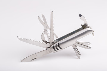 metallic swiss army knife