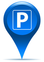 parking sign pointer