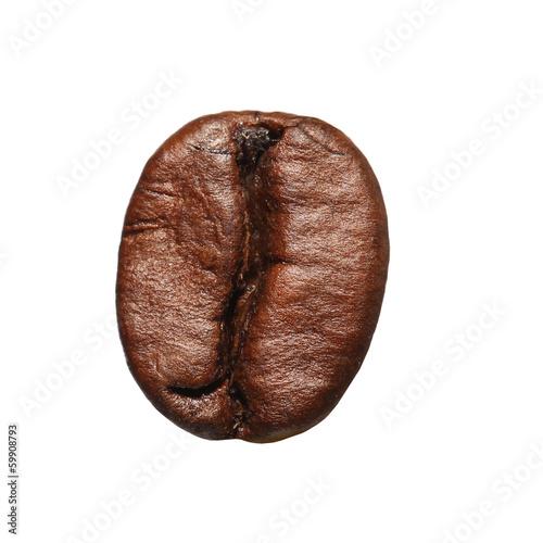 Plexiglas Granen Coffee Bean isolated