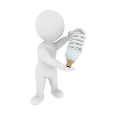 Energie sparen mit Energiesparlampe