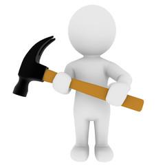 Handwerken, Handwerker, Hammer