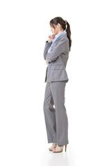 business executive contemplate