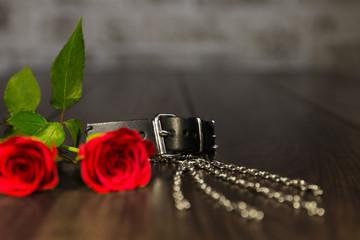 closeup von romantischen Dingen