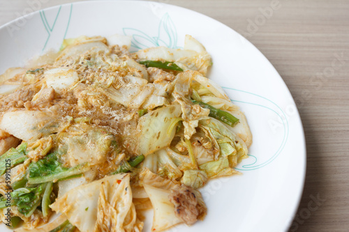 Suki dry fried vermicelli with cabbage