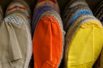 Colorful espadrilles