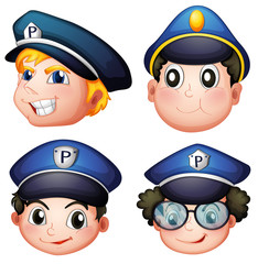 Head of four cops