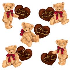 クマのバレンタイン