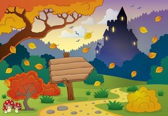Autumn evening theme 1