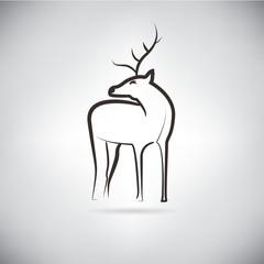 reindeer, sketched concept