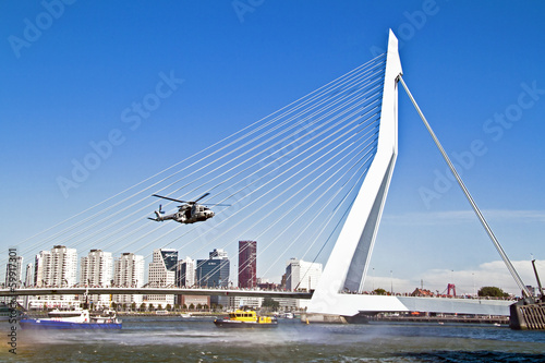 ROTTERDAM, NETHERLANDS - SEPTEMBER 09: Demonstration of a rescue