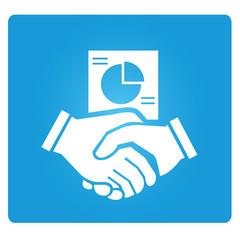 hand shake, business dealing symbol