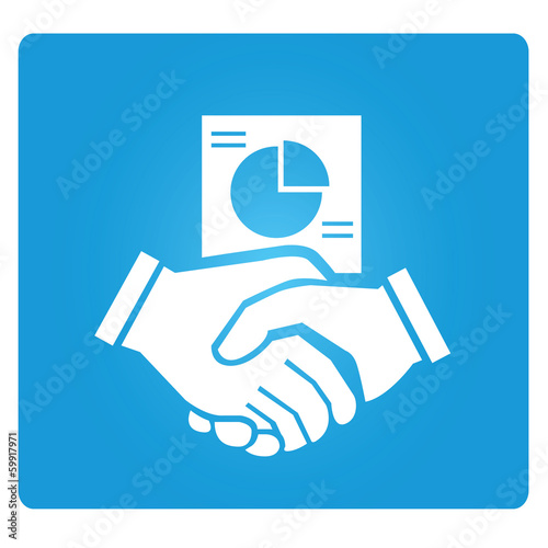hand shake, business dealing symbol