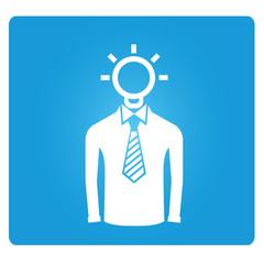 idea man symbol