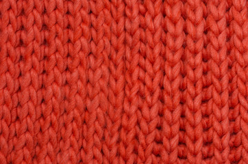 Knitted wool textile background