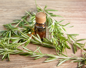aromatic oil of rosemary