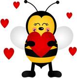 Fototapety Love Bee