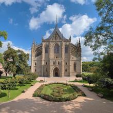 Saint Eglise de Barbara à Kutna Hora, République tchèque