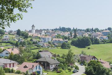 Saignelégier, Jura, Pferdesport, Ortschaft, Schweiz